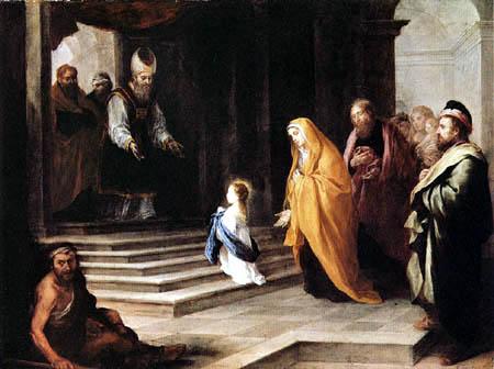 Presentación Virgen María en el Templo